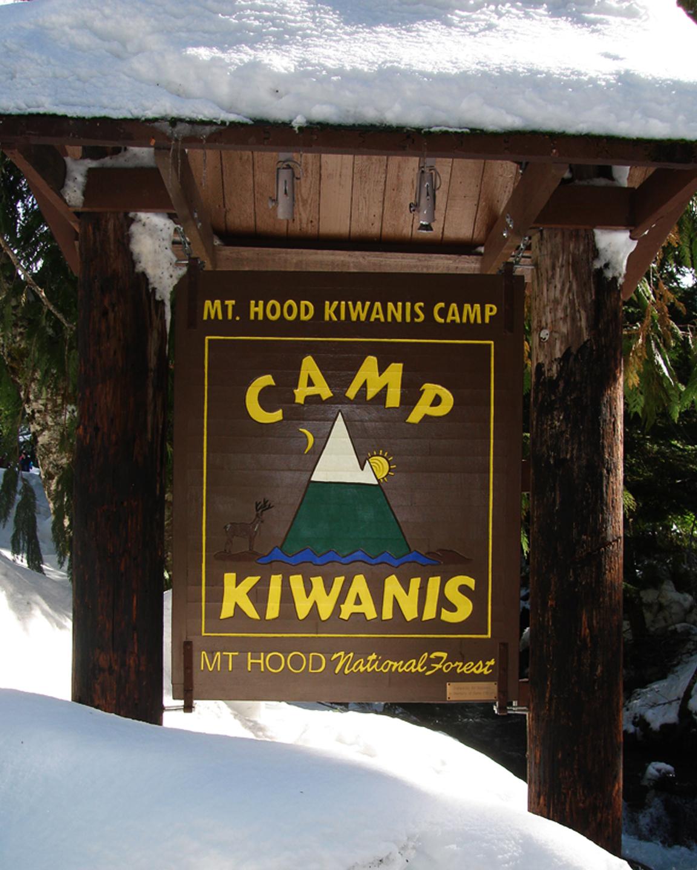 MHKC sign in snow