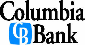 Columbia Bank Sponsor logo