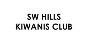 SW Hills Kiwanis Club Sponsor logo