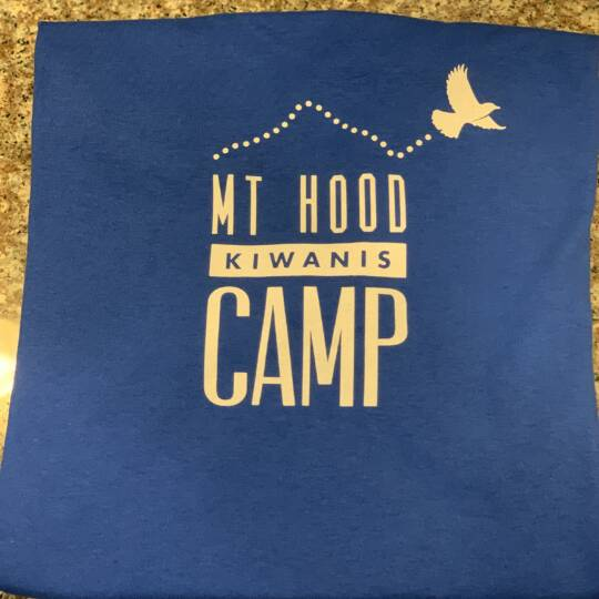 Kiwanis_Blue Camp Logo T-shirt