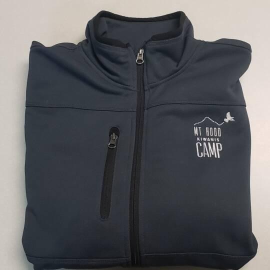 Kiwanis_Men's Grey Camp Jacket
