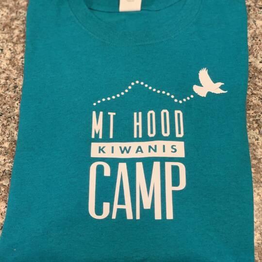 Kiwanis_Teal Camp Logo T-shirt
