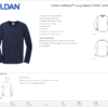 MHKC Long Sleeved T-shirt Size Chart